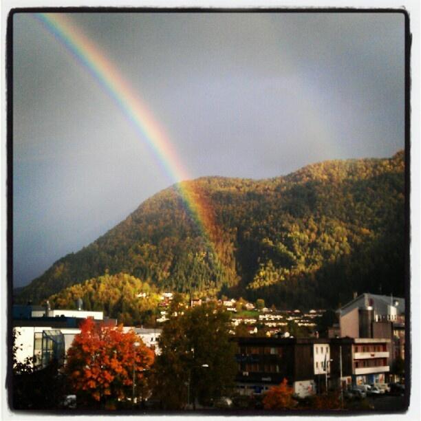 Utsikt frå kontoret i dag :) - @anetteso- #webstagram