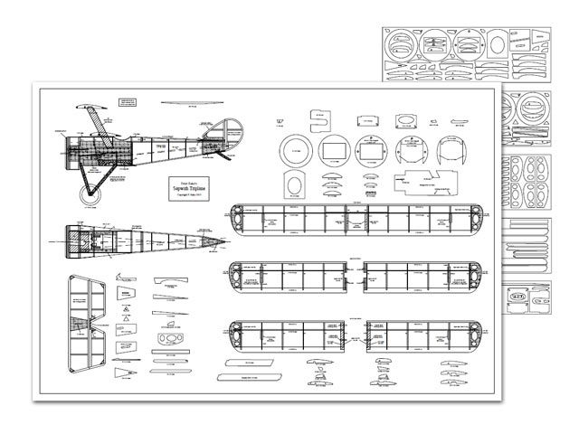 Sopwith Triplane 10695 Toys How To Plan Model