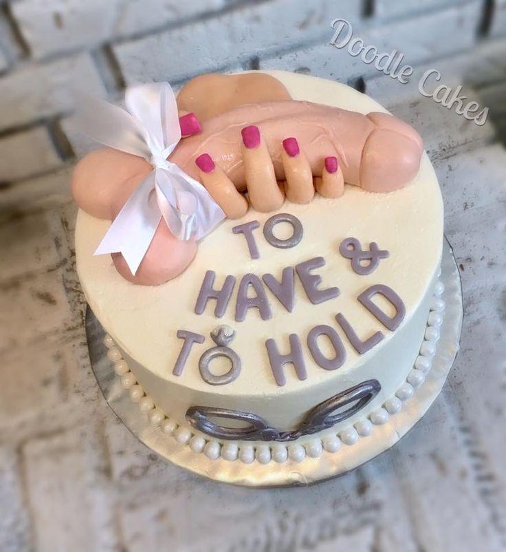 Amazing bachelorette cake