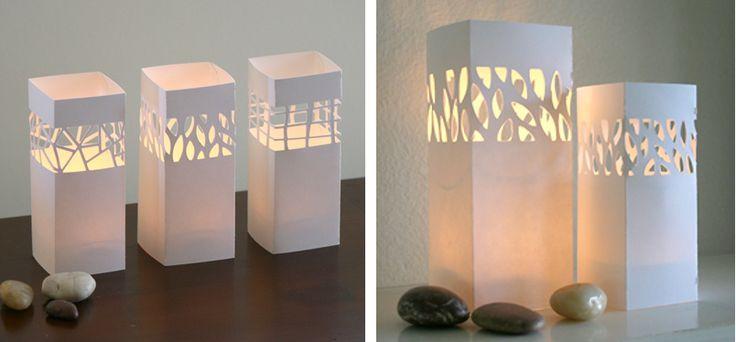 Haz tu Lámpara de Papel por menos de 1 €…