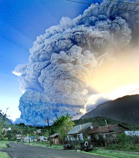 Chaiten Volcano eruption (2008)