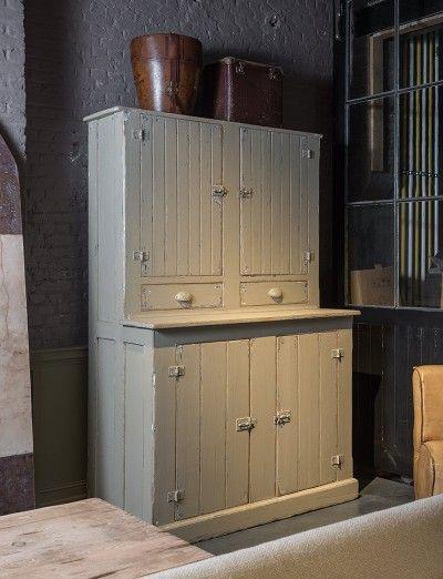Oude voorraadkast - Old style storage cabinet - #WoonTheater