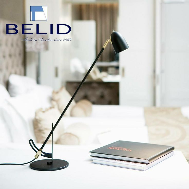 Radiell table lamp. Made in Sweden by Belid