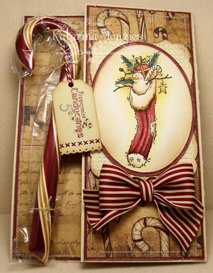 37 best Cards: Country/Primitive Christmas images on Pinterest ...