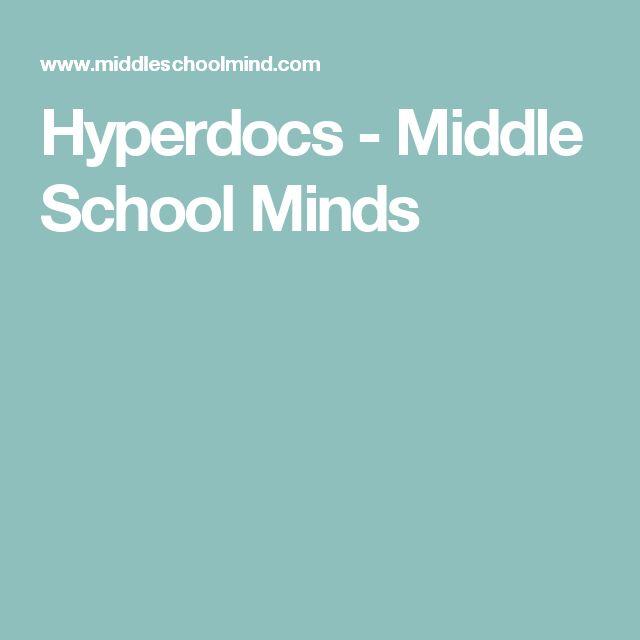 Hyperdocs - Middle School Minds