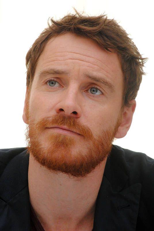bearded, ginger, green eyes. just how I like them.