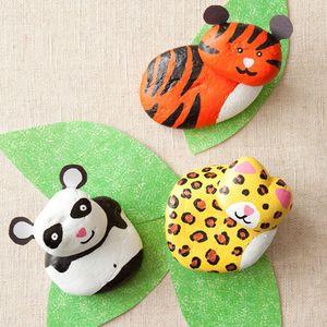 Make Rock Animal Buddies