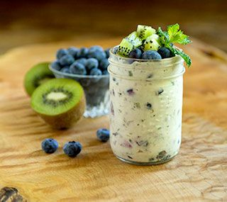 Thrifty Foods - Recipe - Blueberry Kiwi Fool