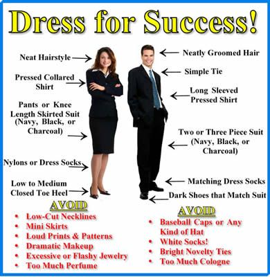 interview dress - How To Dress For An Interview Success