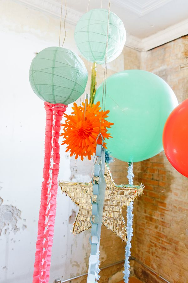 Awesome combo. #party #balloons #pinata