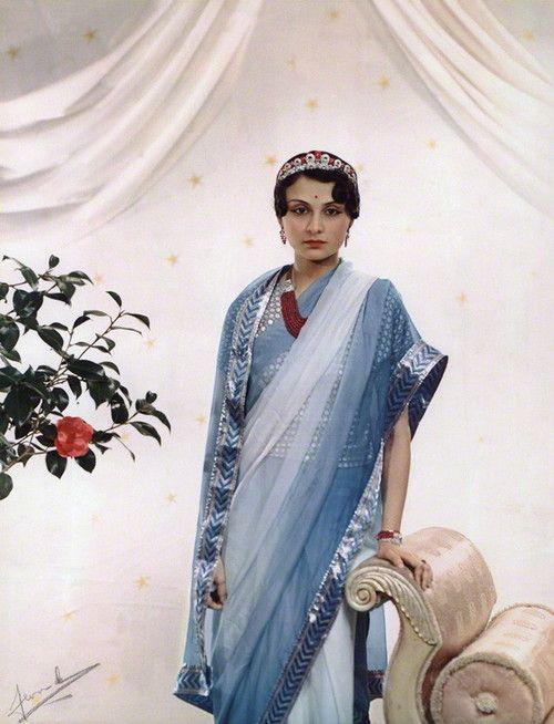 Princess Krishna Kumari of Marwar and Jodhpur. What a pretty lady.