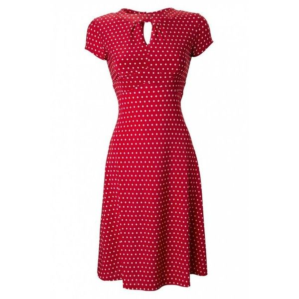 yellow dress ith red polka dots quotes