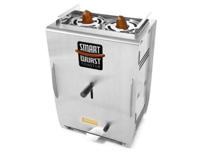 Dieser handliche 9kg Toaster kann in Rekordzeit gleich 2 Bratwürste gleichzeitig zubereiten. Auch multifunktional für Bananen, Eiszapfen, Möhren und mehr. Achtung: Ohne Wlan-Adapter.