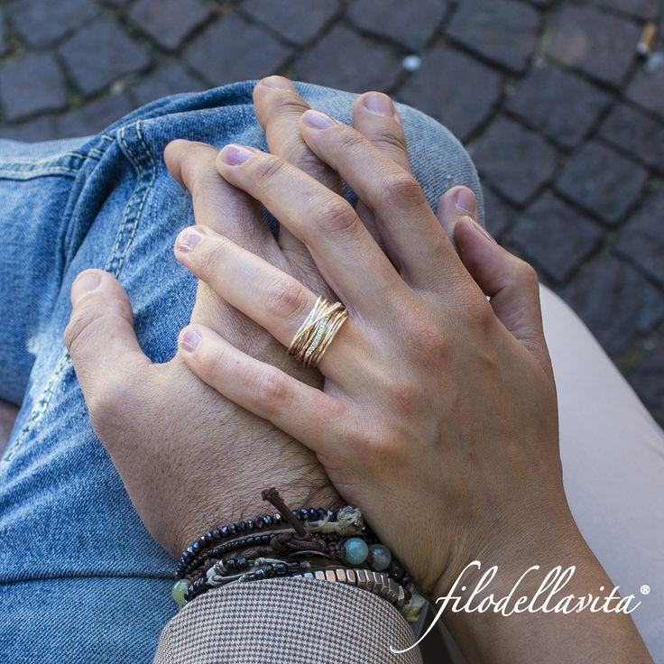 L'anello che ti sa incantare, sedurre, il gioiello che racconta la tua storia, unica.   www.filodellavita.com