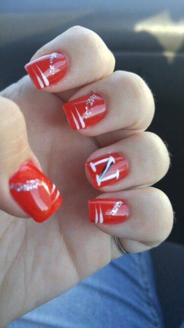 My Husker Nails