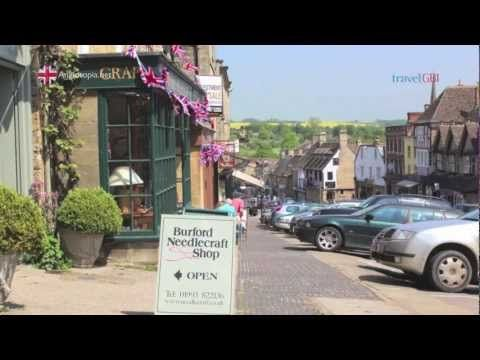 In the first episode of Travels in Britain, we explore the beautiful Oxfordshire Cotswolds. We stop at the village of Burford, enjoy a spot of tea, visit Blenheim Palace, Kelmscott Manor, The Cotswold Wildlife Park, Cotswold Woolen Weavers and take a canal boat tour on the Oxfordshire Canal.