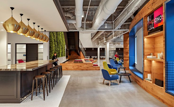 The reinvented Boston offices of Sonos.