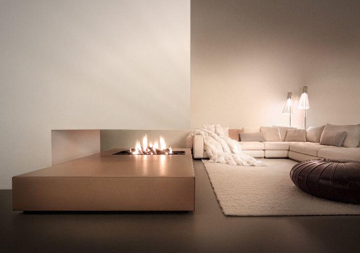 modern architecture - interior design - fireplace - nieuwkoop international - ewald bosgoed