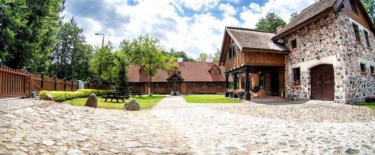 Hotel Brodnica: ślub na wyspie, sala weselna | Dworek Wapionka