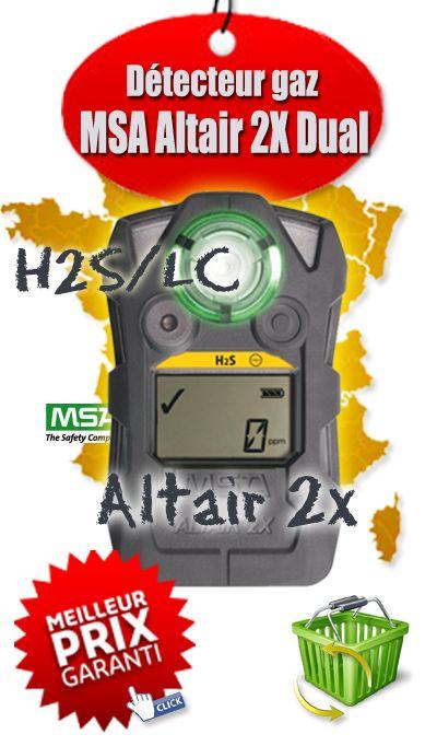Détecteur de Gaz Portable ALTAIR 2X !Détecteurs de gaz ALTAIR® 2X 2 Gaz - MSA Gallet - 10154076 - Le Plus Grand Choix de Explosimètre et Détecteur multigaz portable Altair 2X - MSA Gallet 10154076, A Prix Cassés sur Sécurishop - Sécurishop, la boutique des achats et vente en ligne ! Les prix les plus bas du Web ! Découvrez toutes les informations sur le produit : Le détecteur multi-gaz portable ALTAIR 2X.  Le manuel d'utilisation au format PDF, la fiche de présentation du fabricant MSA…