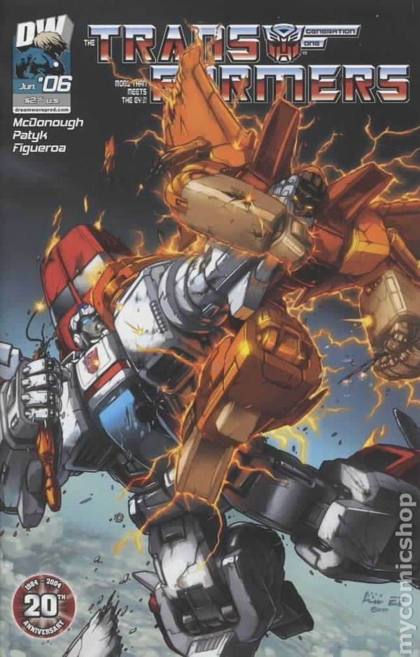 Transformers Generation 1 (2003 Volume 3) 6 Image Comics book covers Modern Age