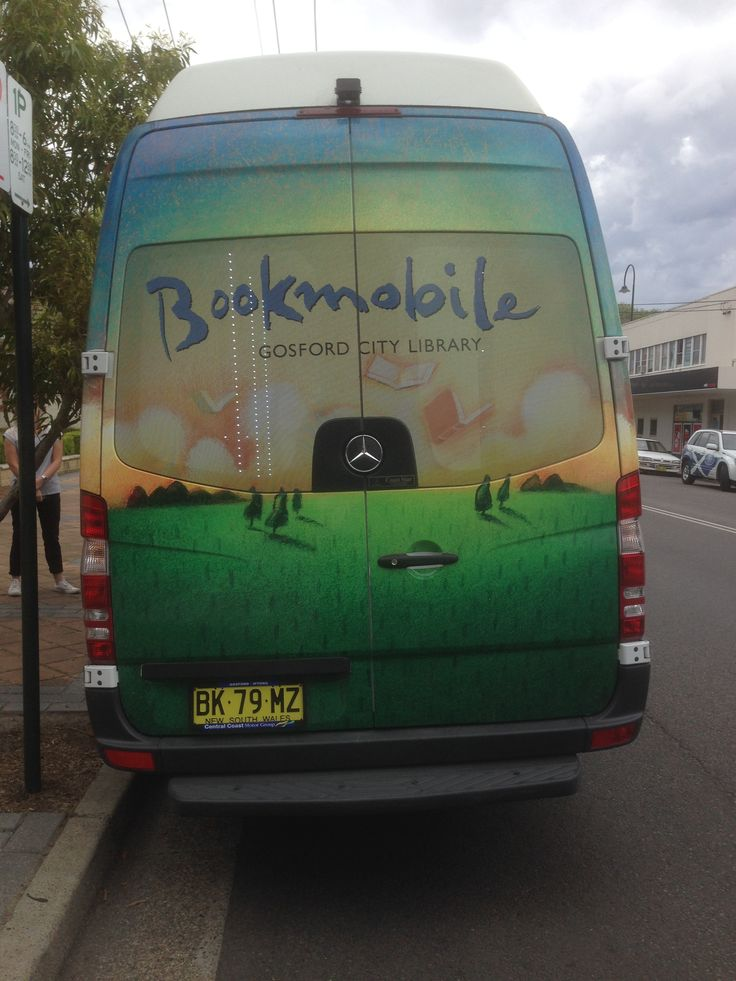 Gosford Library's Bookmobile 2014