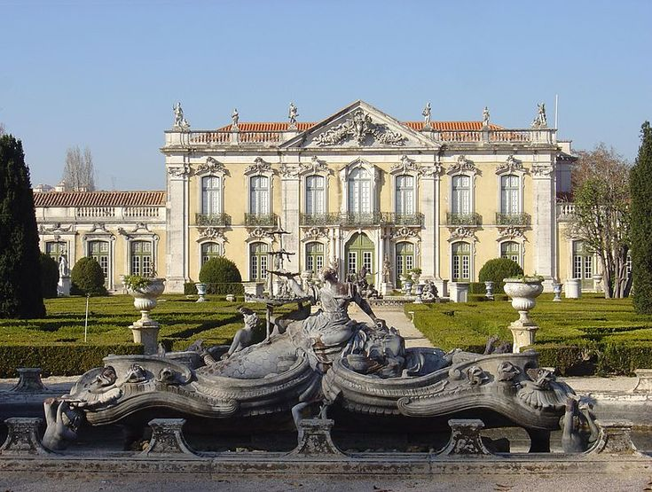 The Queluz National Palace is a Portuguese 18th-century palace located at Queluz, a freguesia of the modern-day Sintra Municipality, in the Lisbon District.