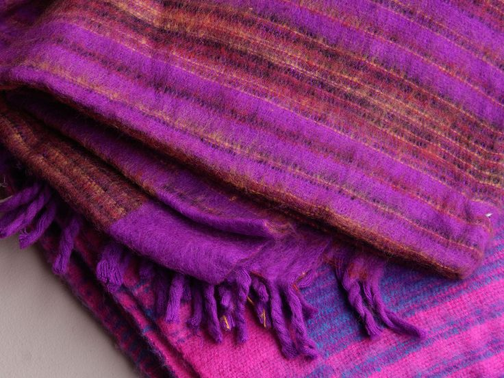 Woolly Blankets Pink