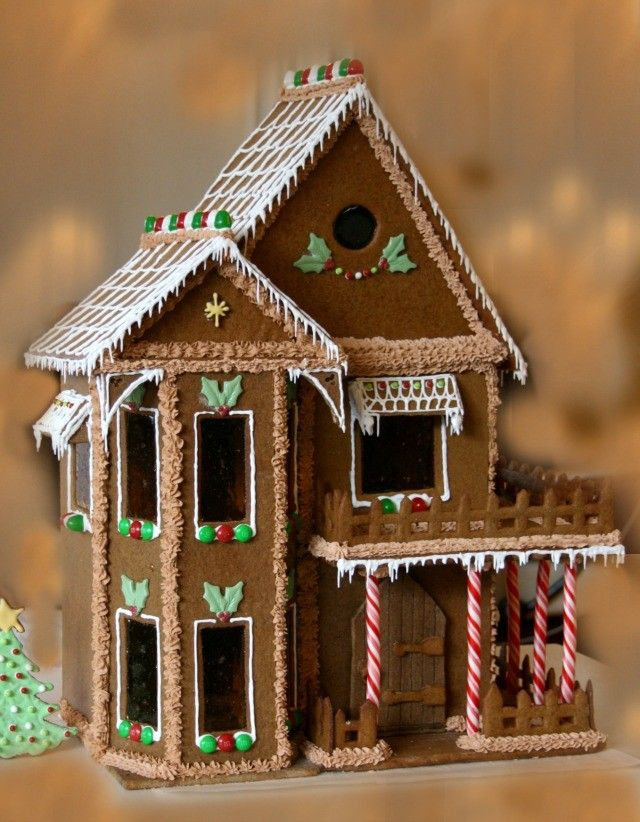 17 best images about gingerbread houses on pinterest for How to make best gingerbread house
