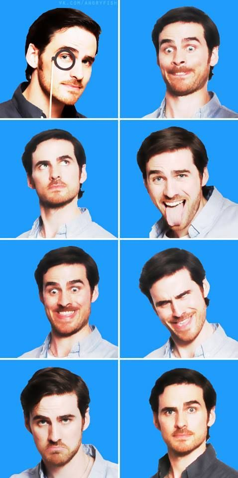 Colin O'Donoghue funny - Killian Jones -Captain Hook- Once Upon A Time