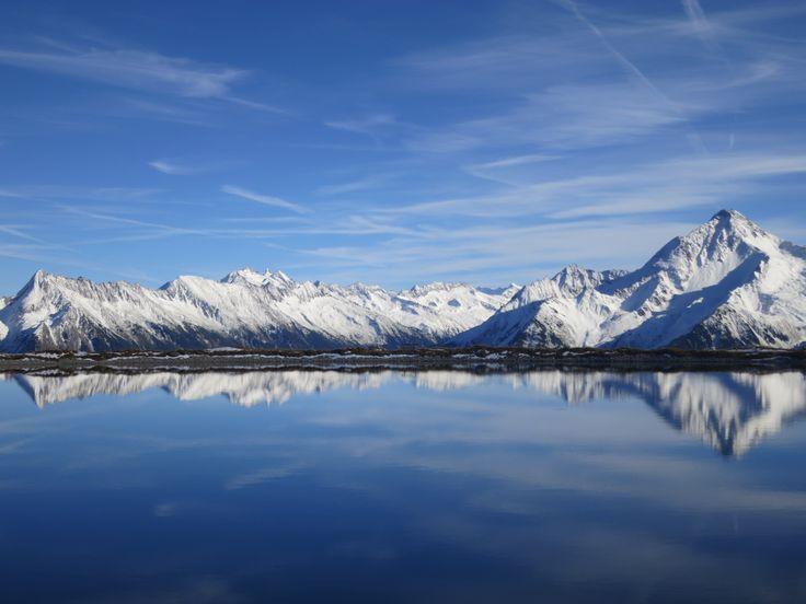 MOUNTAINLAKE in Winter Ski Zillertal 3000  STOCK resort, Tirol www.stock.at
