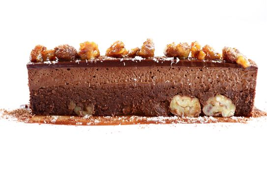 Bitter Chocolate and Rendelsham Forest Chestnut Truffle Cake - the ...