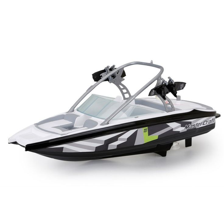 New Bright Master Craft Boat Wake Board Radio Controlled Toy - Black - 7175B