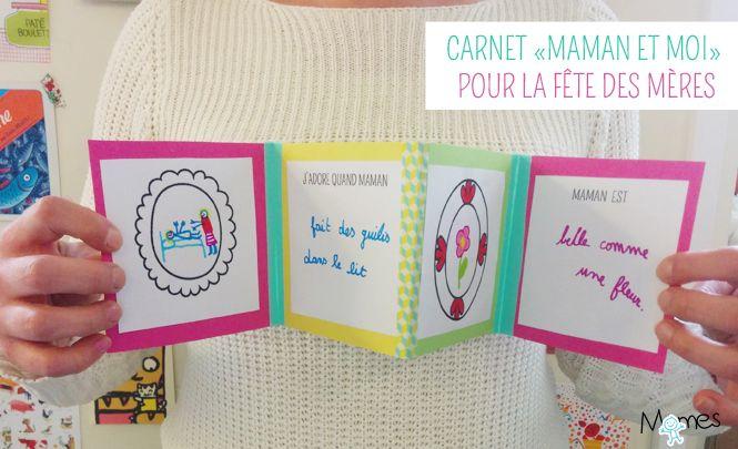 fabriquer un livre pour la fête des mères
