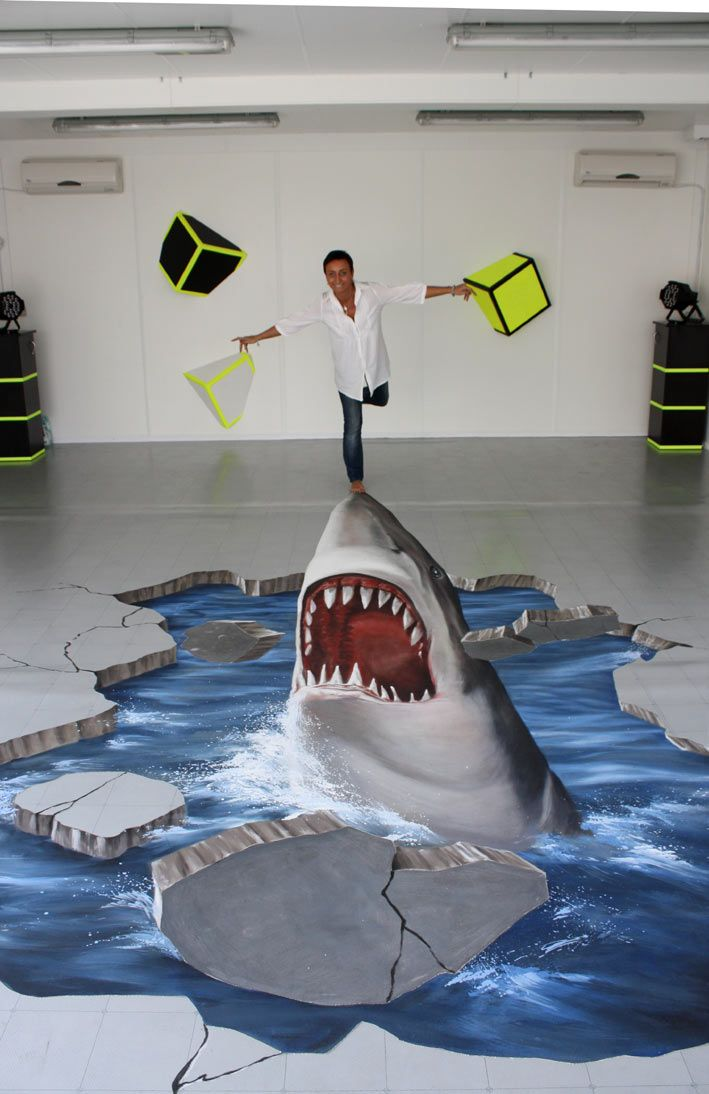 interactive 3d street painting                              …