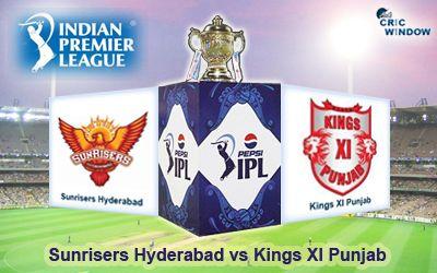Match 48 : 11 May, 2015 Hyderabad vs Punjab Rajiv Gandhi Stadium, Uppal, Hyderabad http://www.cricwindow.com/live-stream-video.html http://www.cricwindow.com/cricket_live_scores.html