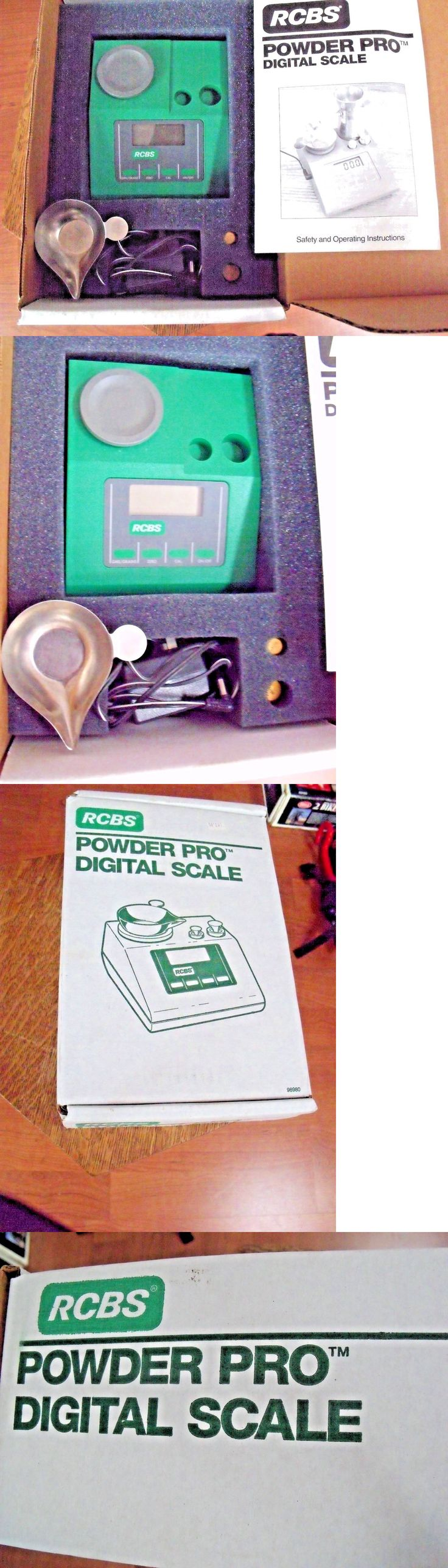Powder Measures Scales 71119: Rcbs Powder Pro Digital Reloading Scale 98980 Brand New In The Box -> BUY IT NOW ONLY: $125 on eBay!