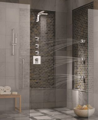 I want a spa shower!!!