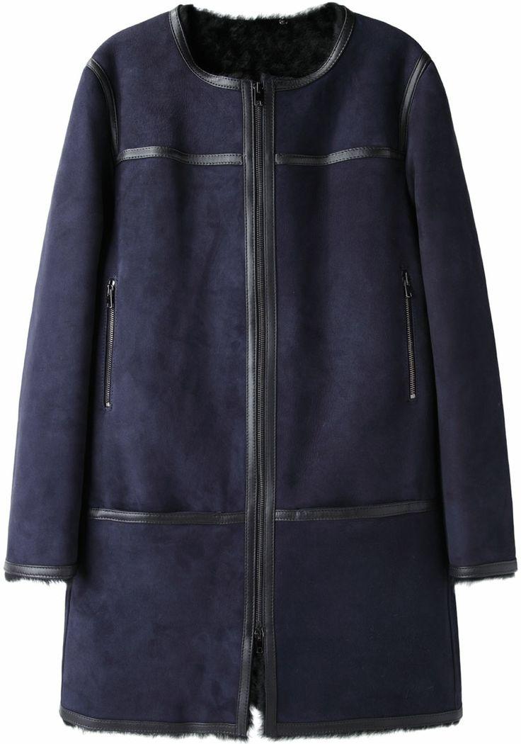 Isabel Marant Boyce Shearling Coat | La Garçonne
