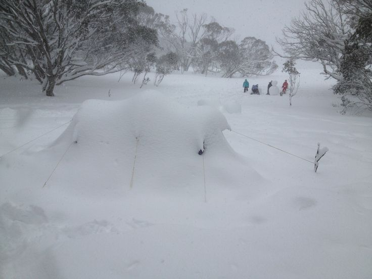 Snow camping 2013 chasing that perfect landscape photo. Near Mt Hotham, Victoria www.australianphotos.com.au