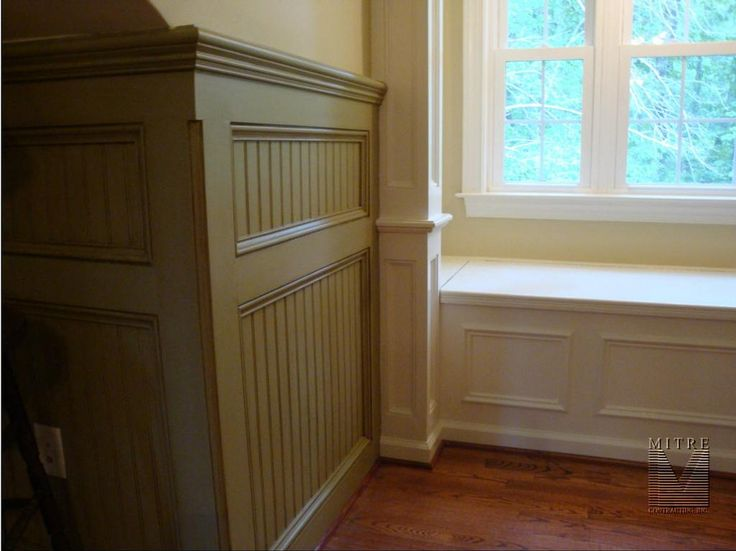 Wainscoting pictures picture paneled beadboard for Bathroom beadboard ideas
