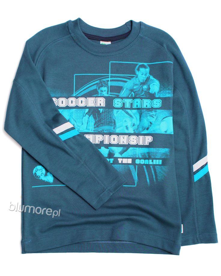Sportowa bluza Marcel uszyta z lekkiej i wysokogatunkowej bawełny. Bardzo wygodny fason z długim rękawem — przyda się na co dzień. | Cena: 32,00 zł | Link do sklepu: http://tiny.pl/gxpn1