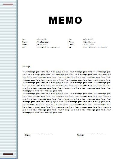 memo format - Yahoo Search Results Yahoo Image Search Results