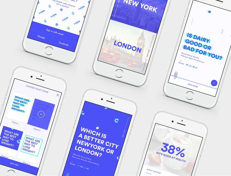 """다음 @Behance 프로젝트 확인: """"TOOWAY Mobile application"""" https://www.behance.net/gallery/35711811/TOOWAY-Mobile-application"""