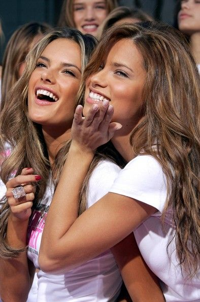 Alessandra Ambrosio and Adriana Lima Photos - Victoria's Secret Models To Receive 'Key To The City' Of Hollywood - Zimbio
