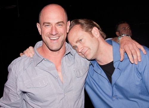 lee tergesen and christopher meloni | And they tell you it's not natural!