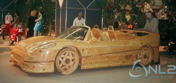 Samochód :D z drewna
