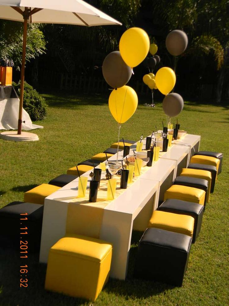 Batman Birthday Party Ideas   Photo 11 of 29   Catch My Party