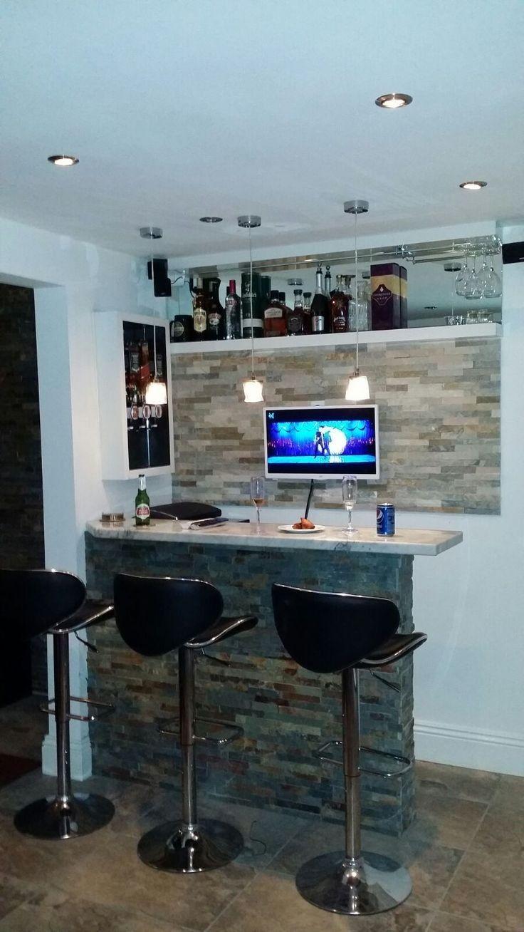 Minimalist Mini Bar Design Ideas At Home Modern Home Bar Bars For Home Home Bar Counter