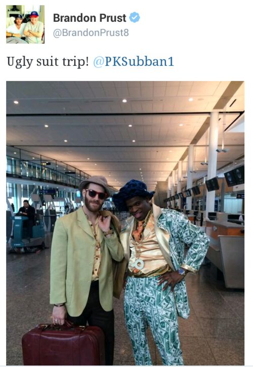 Ugly Suit Trip....yep, mission accomplished.